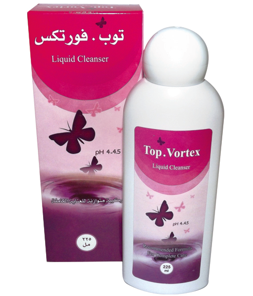 Top Vortex Liquid Cleanser